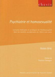 Psychiatrie et homosexualité (Presse Universitaires de Franche Comté – 2009)