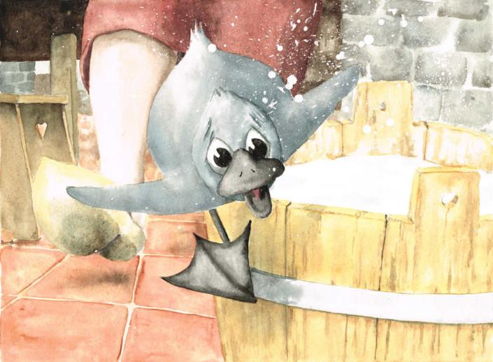 Le Vilain petit canard. Planche 14