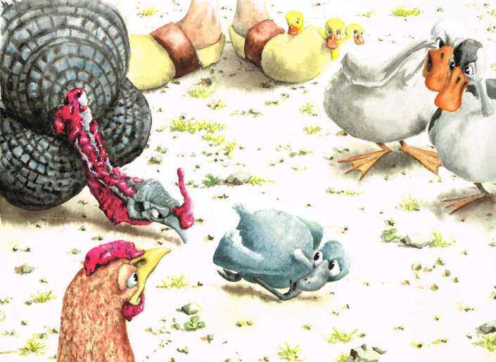 Le Vilain petit canard. Planche 7