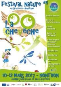 Affiche festival La Chevêche 2017