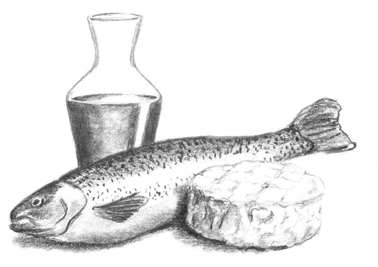 truite au camembert