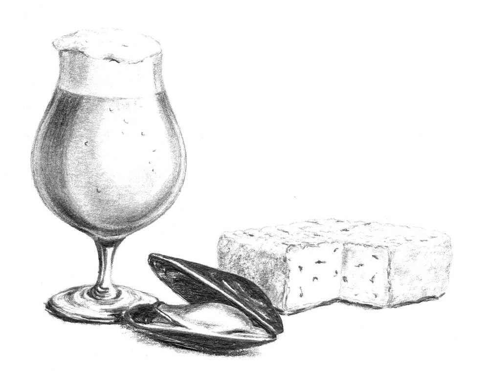 gratin de moules de bouchot de la Baie de Somme petit traité du haricot