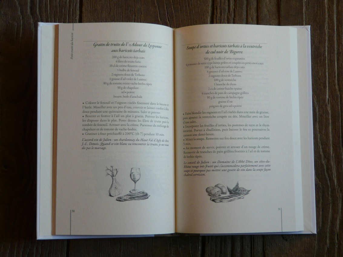 Petit traité du haricot éditions Le Sureau pages 30 et 31